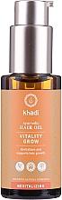 Parfüm, Parfüméria, kozmetikum Helyreállító hajmaszk - Khadi Ayurvedic Vitality Grow Hair Oil