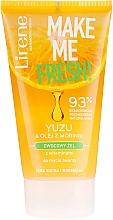 Parfüm, Parfüméria, kozmetikum Arctisztító gél yuzu kivonattal és moringaolajjal - Lirene Make Me Clean! Fresh Vegetable Gel