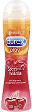 "Parfüm, Parfüméria, kozmetikum Sikosító gél ""Lédús meggy"" - Durex Play"