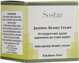 Parfüm, Parfüméria, kozmetikum Fiatalító krém jázminnal - Sostar Jasmine Anti-Aging Beauty Cream