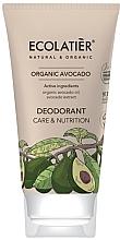 """Parfüm, Parfüméria, kozmetikum Dezodor """"Ápolás és táplálás"""" - Ecolatier Organic Avocado Deodorant"""
