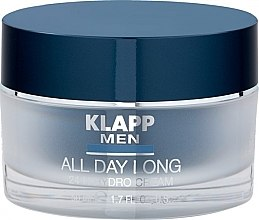 Parfüm, Parfüméria, kozmetikum Hidrokrém arcra, 24 órás - Klapp Men All Day Long 24h Hydro Cream