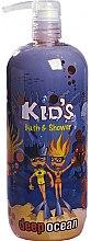 Parfüm, Parfüméria, kozmetikum Tusoló- és fürdőhab - Hegron Kid's Deep Ocean Bath & Shower