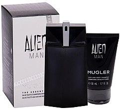 Parfüm, Parfüméria, kozmetikum Mugler Alien Man - Szett (edt/100ml+sh/gel/50ml)