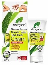 Parfüm, Parfüméria, kozmetikum Nyugtató krém - Dr. Organic Bioactive Skincare Tea Tree Cream