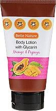 Parfüm, Parfüméria, kozmetikum Testápoló balzsam - Belle Nature Body Lotion With Mango & Papaya