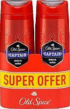 Parfüm, Parfüméria, kozmetikum Sampon-tusfürdő 2az1 - Old Spice Captain Shower Gel + Shampoo