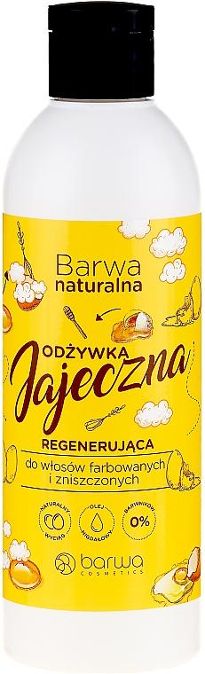 Helyreállító hajkondicionáló - Barwa Natural Regenerating Egg Conditioner
