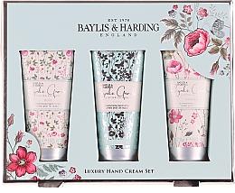 Parfüm, Parfüméria, kozmetikum Kézápoló szett - Baylis & Harding Royale Garden Luxury Hand Care Set (h/cr/3x50ml)