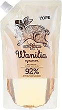 """Parfüm, Parfüméria, kozmetikum Folyékony szappan """"Vanília"""" (utántöltő) - Yope Vanilla & Cinnamon Natural Liquid Soap Refill Pack"""