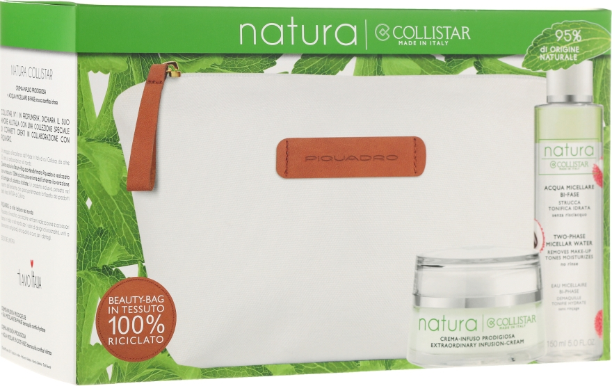 Készlet - Collistar Natura (cr/50ml + water/150ml + pounch) — fotó N1