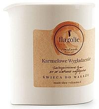 """Parfüm, Parfüméria, kozmetikum Masszázsgyertya """"Lágyító karamell"""" - Flagolie Caramel Smoothing Massage Candle"""