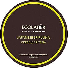 """Parfüm, Parfüméria, kozmetikum Narancsbőr elleni testradír """"Japán spurilina"""" - Ecolatier Japanese Spirulina Body Scrub"""