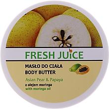 """Parfüm, Parfüméria, kozmetikum Krém-olaj testre """"Ázsiai körte és papaya"""" - Fresh Juice Asian Pear & Papaya"""