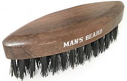 Parfüm, Parfüméria, kozmetikum Fa utazó kefe szakállra - Man'S Beard Travel Beard Brush Without Wooden Handle