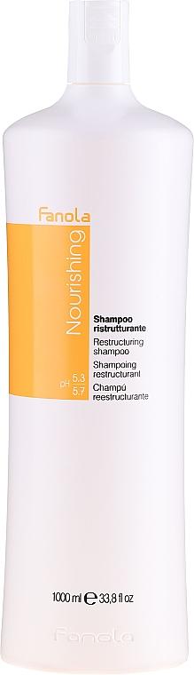Újjáépítő sampon száraz hajra - Fanola Restructuring Shampoo