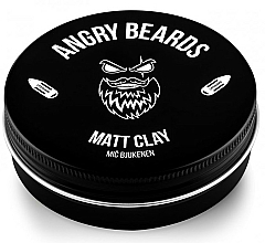 Parfüm, Parfüméria, kozmetikum Agyag hajra - Angry Beards Mic Bjukenen Matt Clay