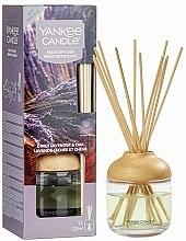 "Parfüm, Parfüméria, kozmetikum Aromadiffúzor ""Levendula és tölgy"" - Yankee Candle Dried Lavender & Oak Reed Diffuser"