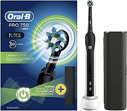 Parfüm, Parfüméria, kozmetikum Elektromos fogkefe - Oral-B Pro 2 2500 Black Edition