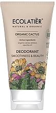 """Parfüm, Parfüméria, kozmetikum Dezodor """"Simaság és szépség"""" - Ecolatier Organic Cactus Deodorant"""