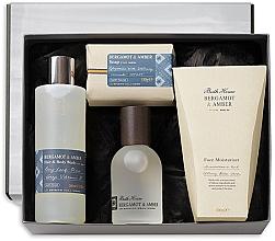 Parfüm, Parfüméria, kozmetikum Bath House Bergamot & Amber - Szett (edc/100ml + sh/gel/260ml + f/cr/100ml + soap/150g)