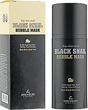 Parfüm, Parfüméria, kozmetikum Oxigén maszk csigával és szénnel - The Skin House Black Snail Bubble Mask