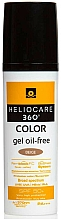 Parfüm, Parfüméria, kozmetikum Napvédő alapozó gél - Cantabria Labs Heliocare 360 Gel Oil Free Color