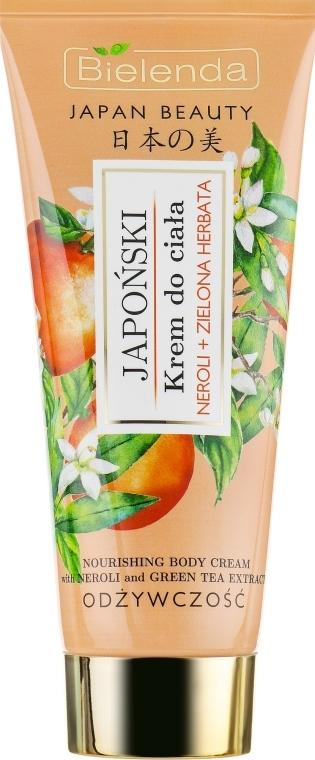 """Testkrém """"Neroli olaj + zöld tea - Bielenda Japan Beauty Nourishing Body Cream"""