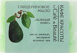 "Parfüm, Parfüméria, kozmetikum Glicerin szappan ""Zöld mix"" - Le Cafe de Beaute Glycerin Soap"