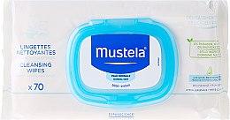 Parfüm, Parfüméria, kozmetikum Baba nedves törlőkendő - Mustela Bebe Cleansing Wipes