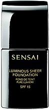 Parfüm, Parfüméria, kozmetikum Alapozó krém, ragyogó bőrért - Kanebo Sensai Luminous Sheer Foundation