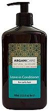 Parfüm, Parfüméria, kozmetikum Öblítést nem igénylő kondicionáló göndör hajra - Arganicare Shea Butter Leave-In Hair Conditioner For Curly Hair