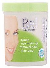 Parfüm, Parfüméria, kozmetikum Nedves kozmetikai korongok aloe verával - Bel Premium Lotion Eye Make-Up Pads Aloe Vera