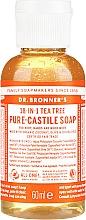 "Parfüm, Parfüméria, kozmetikum Folyékony szappan ""Teafa"" - Dr. Bronner's 18-in-1 Pure Castile Soap Tea Tree"