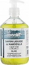 "Parfüm, Parfüméria, kozmetikum Folyékony szappan ""Olive"" - La Corvette Liquid Soap"