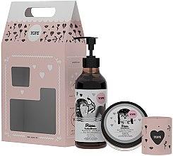 Parfüm, Parfüméria, kozmetikum Szett - Yope (sh/gel/400ml + oil/200ml + candle/60g)