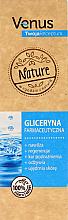 Parfüm, Parfüméria, kozmetikum Gyógyszerészeti glicerin - Venus Nature Your Recipe Pharmaceutical Glycerin