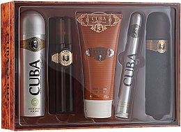 Parfüm, Parfüméria, kozmetikum Cuba Gold - Szett (edt/100ml + deo/200ml + ash/balm/100ml + sh/gel/200ml + edt/35ml)