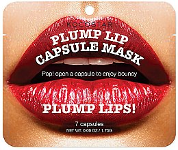 Parfüm, Parfüméria, kozmetikum Ajaknövelő kapszulla szérum - Kocostar Plump Lip Capsule Mask Pouch