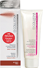 Parfüm, Parfüméria, kozmetikum Hajápoló szett - Collistar Special Perfect Hair Magic Root Concealer Red (shm/100 ml + concealer/75ml)