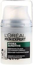 Parfüm, Parfüméria, kozmetikum Hidratáló krém nyírfa kivonattal érzékeny bőrre - L'Oréal Paris Men Expert Hydra Sensitive 25+
