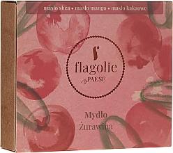"""Parfüm, Parfüméria, kozmetikum Natúr szappan kézre és testre """"Vörösáfonya"""" - Flagolie by Paese Cranberry"""