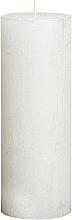 Parfüm, Parfüméria, kozmetikum Henger alakú gyertya Metallic White, 190/68 mm - Bolsius Candle