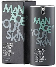 Parfüm, Parfüméria, kozmetikum Aktív fiatalító komplexum - Dr. Spiller Manage Your Skin Activating Age Repair Complex