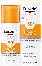 Parfüm, Parfüméria, kozmetikum Arcfluid hiperpigmentáció ellen - Eucerin Sun Protection Pigment Control SPF50+