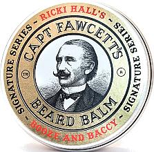 Parfüm, Parfüméria, kozmetikum Szakáll balzsam - Captain Fawcett Ricki Hall Booze & Baccy Beard Balm