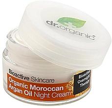 "Parfüm, Parfüméria, kozmetikum Éjszakai krém ""Marokkói argánolaj"" - Dr. Organic Bioactive Skincare Organic Moroccan Argan Oil Night Cream"