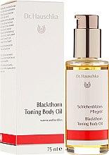 "Parfüm, Parfüméria, kozmetikum ""Blackthorn"" testápoló olaj - Dr. Hauschka Blackthorn Toning Body Oil"