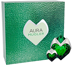 Parfüm, Parfüméria, kozmetikum Mugler Aura Mugler Eau de Parfum - Szett (edp/50ml + edp/5ml)