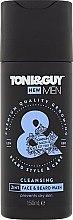 """Parfüm, Parfüméria, kozmetikum Szakáll és bajusz sampon """"Hidratáló"""" - Toni & Guy Men Cleansing 2in1 Face & Beard Wash"""